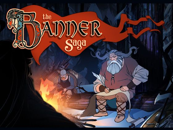 The Banner Saga... I'm a Backer!  Turn based strategy with extensive rotoscoping and a full on orchestra... and vikings.