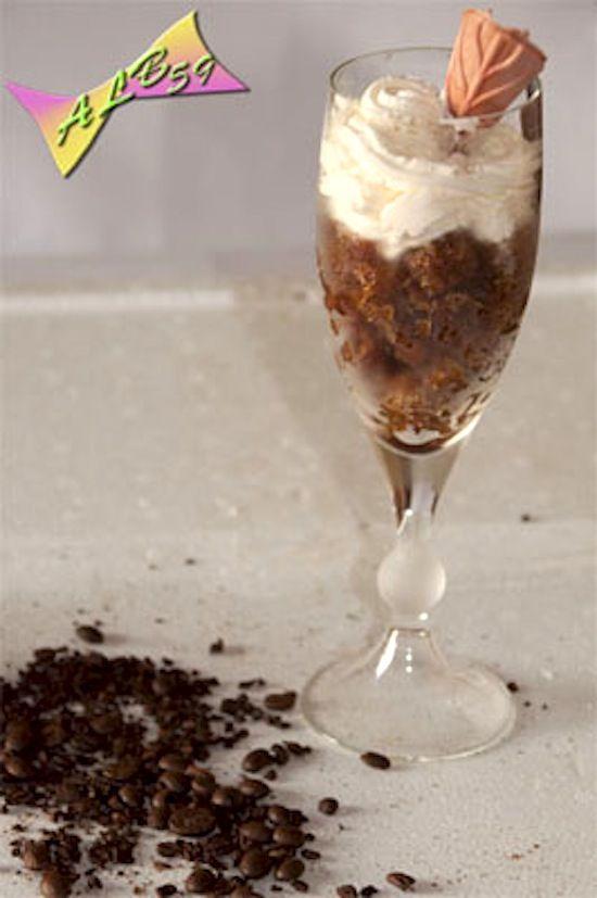 granita di caffè con panna - La ricetta