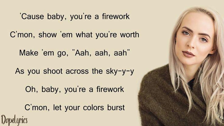 Katy Perry - Firework (Lyrics)(Madilyn Bailey Cover)