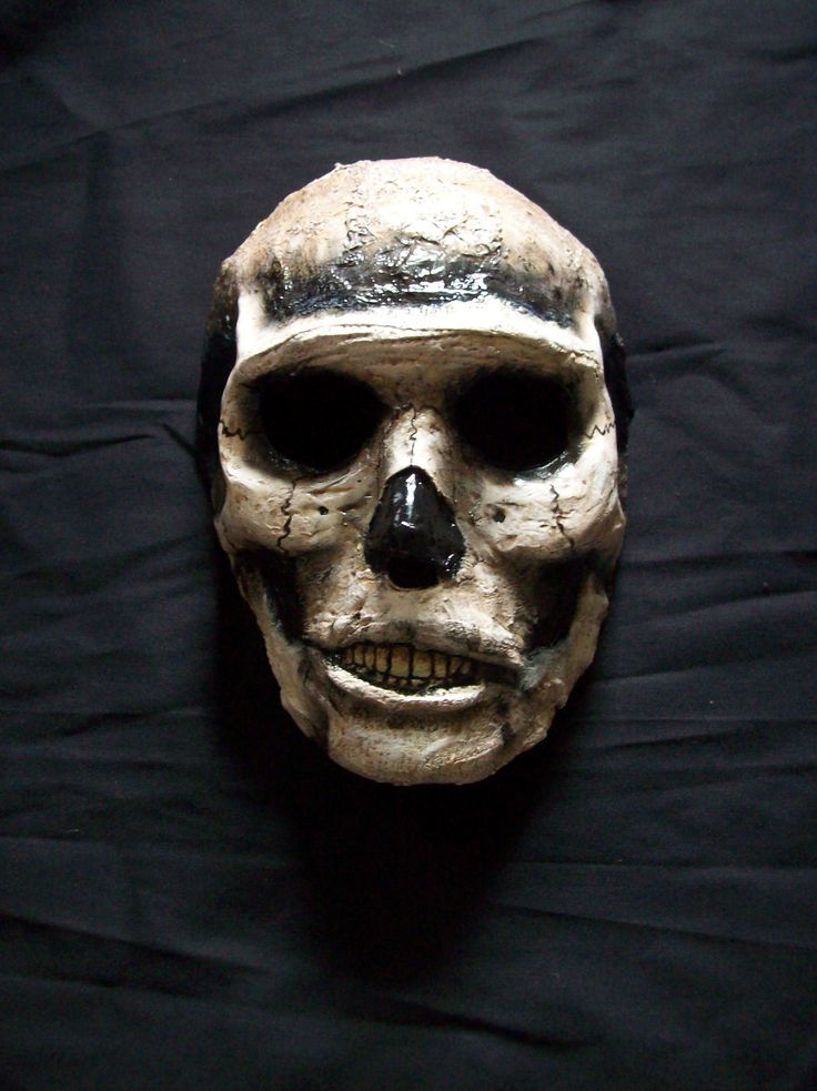 skull zombie halloween mask 4500 via etsy - Zombies Pictures For Halloween