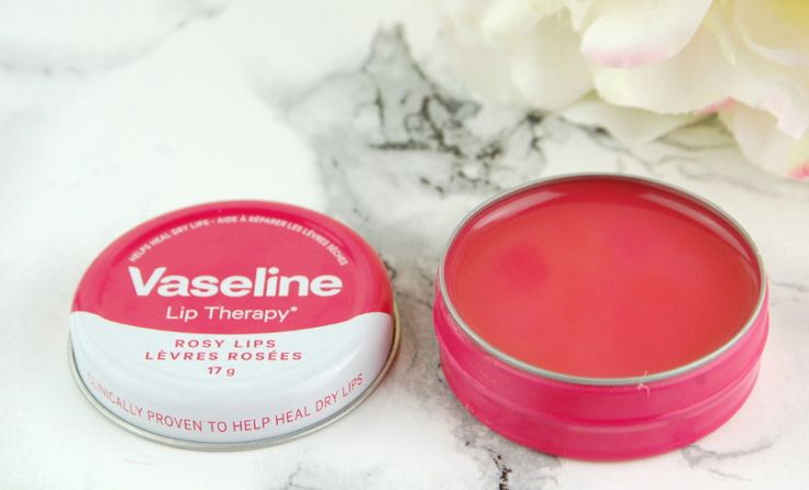Vaseline Lip Therapy Tins in Rosy Lips