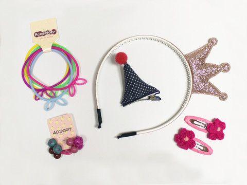Fun girls hair accessory set