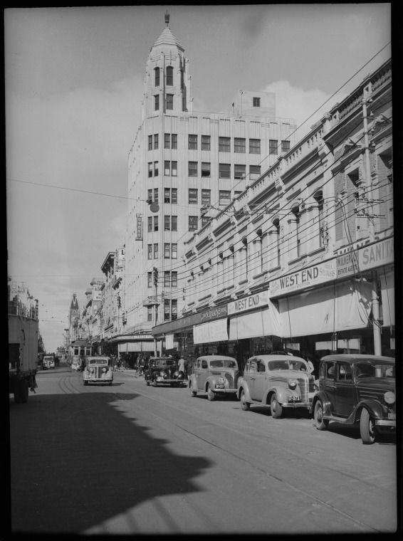 217712PD: Hay St, Perth east across William St, 1941 https://encore.slwa.wa.gov.au/iii/encore/record/C__Rb3416428