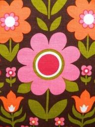 vintage 1960s fabric