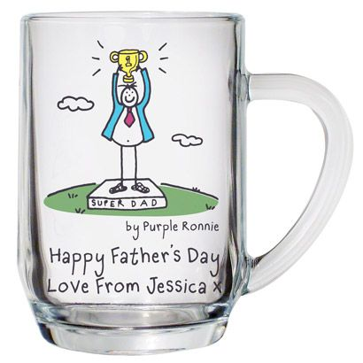Make your fathers day with a Personalised Purple Ronnie Tankard. Cute idea for dad