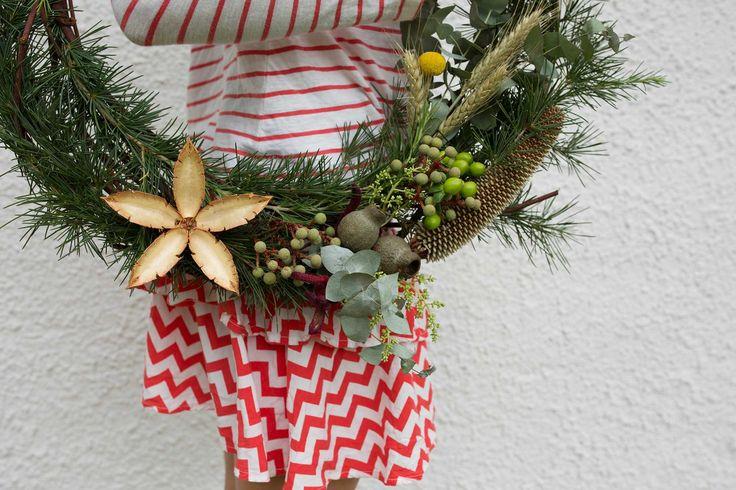 The Gardenbird Flowers wreath |  Web Shop | Art Direction & Photography | Lynda Evans