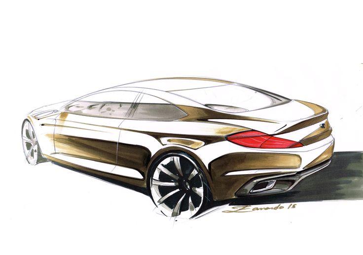 BMW Sketch - Cesar Zanardo