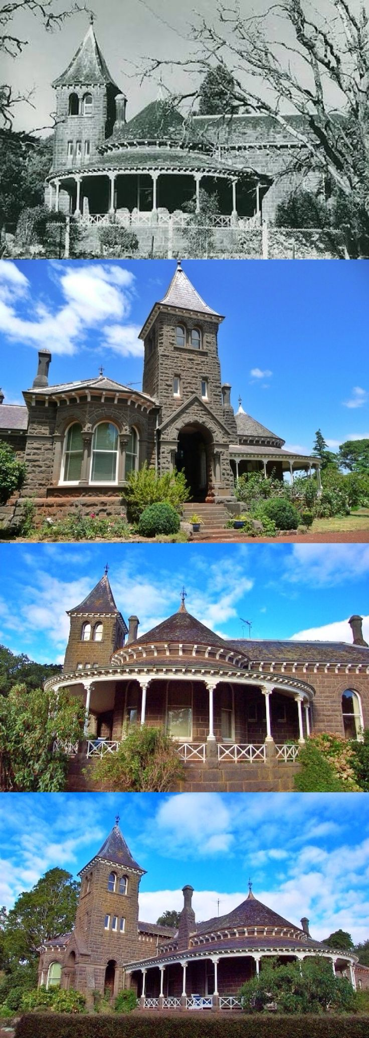 Kolor Homestead, Penshurst (279km W of Melbourne), sits beneath the twin volcanic cones of Mt Rouse and is one of the most picturesque homesteads in the Western District. A large bluestone villa with bluestone outbuildings, it is set in a well-established garden with extended parkland. In 1838, John Cox took up the Mount Rouse run which was to become Kolor. The government soon evicted him to set up the Mount Rouse Aboriginal Protectorate comprising 100 sq miles centred on the mountain. But…