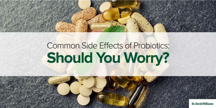 Common Side Effects of Probiotics: Should You Worry? | Dr. Williams