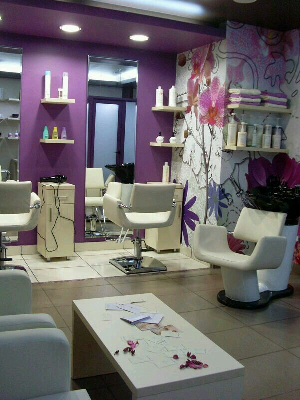 small salon design ideas