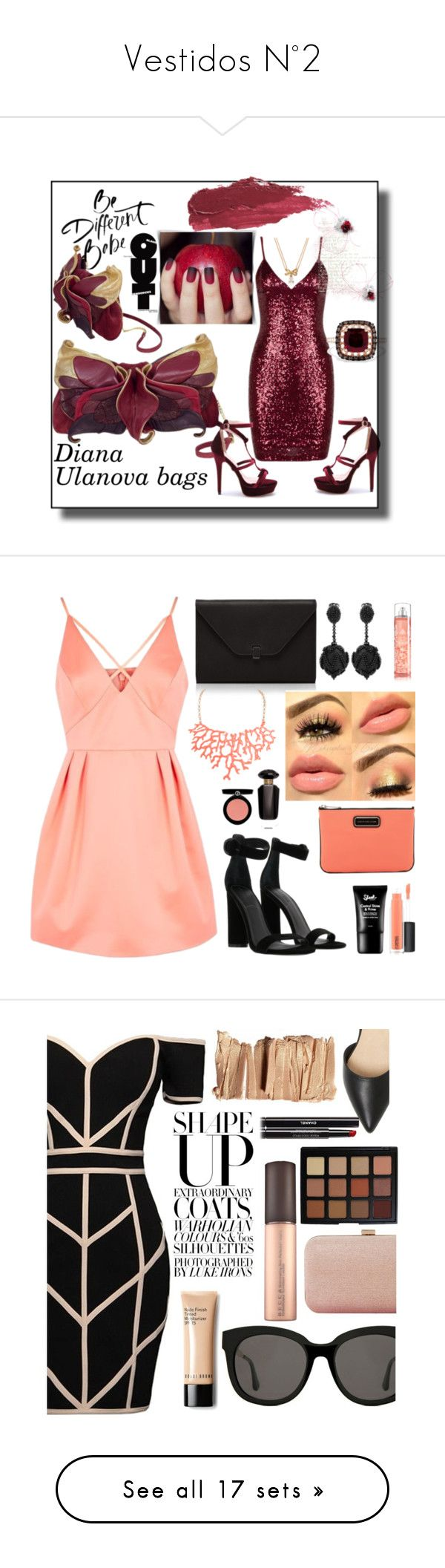 """""""Vestidos N°2"""" by kekabt ❤ liked on Polyvore featuring Effy Jewelry, Kate Spade, Lily Lolo, Topshop, Kendall + Kylie, Valextra, Humble Chic, Oscar de la Renta, MAC Cosmetics and Marc by Marc Jacobs"""