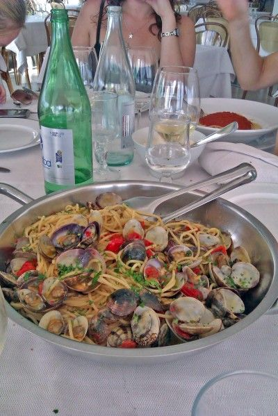 Spaghetti con vongole One of the best things I ate in Italy  Sicilian Recipes - Ideas for Cooking Sicilian Food | Think Sicily