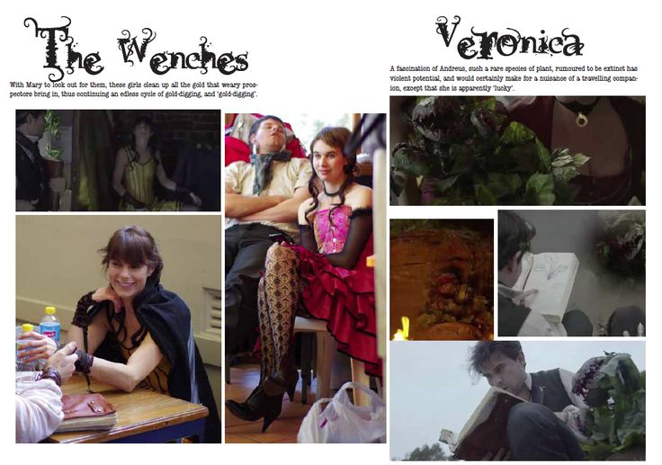 Veronica and the Wenches: Character Card by ~alexthegiles on deviantART