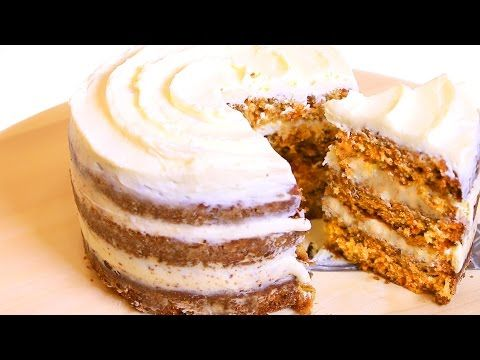 (60) МОРКОВНЫЙ ТОРТ по рецепту STARBUCKS - YouTube