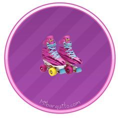 Stickers patines soy luna