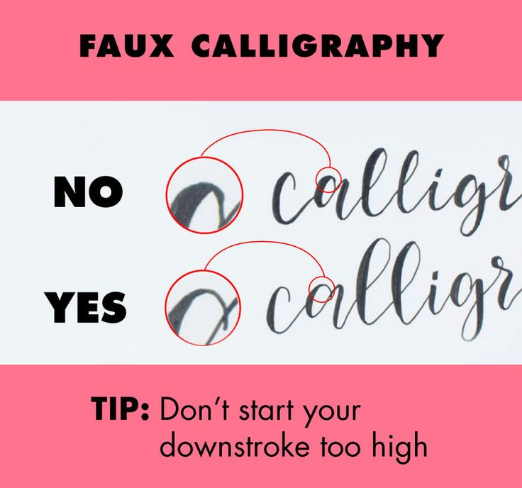 The 25 best fake calligraphy ideas on pinterest fake Calligraphy tutorial