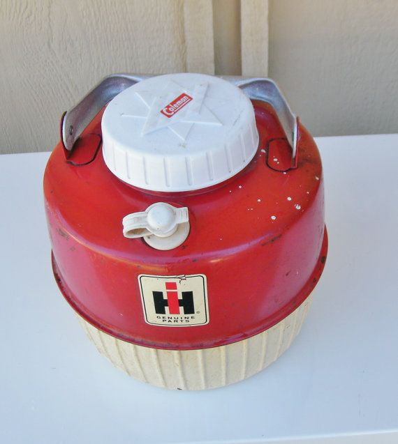 Coleman International Harvester Cooler by 15degrees on Etsy, $45.00