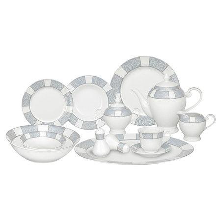 57-Piece Domus Porcelain Dinnerware Set at Joss and Main