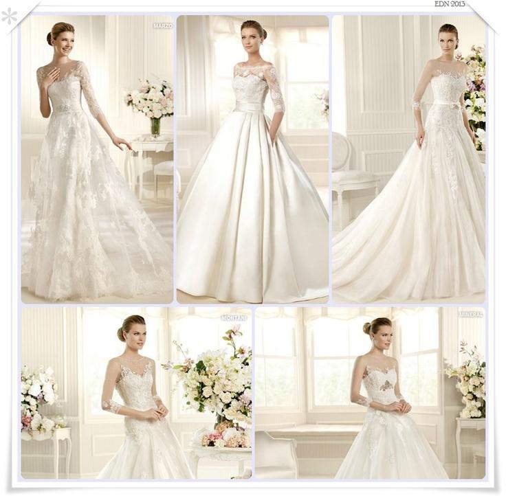 El diario de la Novia 2013: Vestido de novia... con mangas!