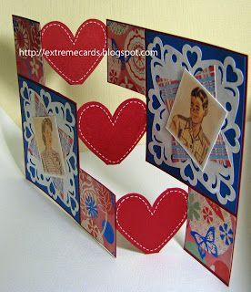 Valentine step card