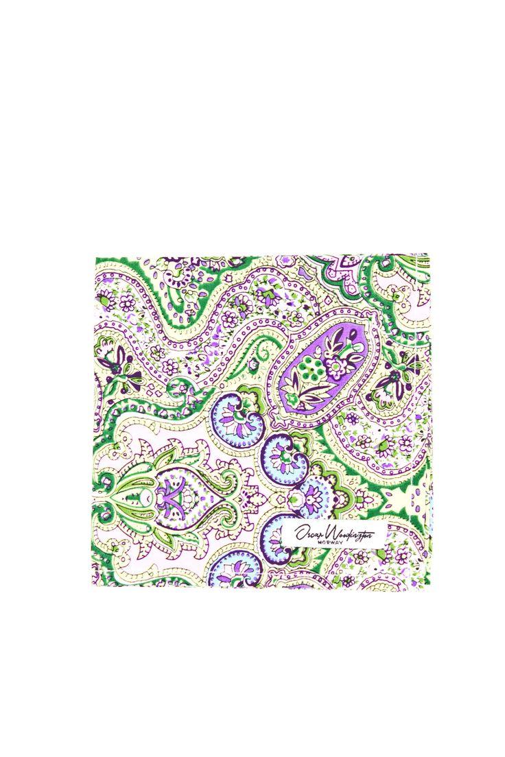 Indian Green Pocket Square