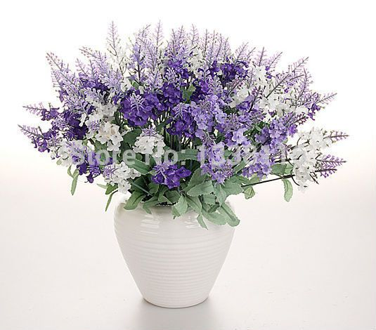 Cheap flower hedges, Buy Quality flower bouquet directly from China flower bouquet making Suppliers: 	Material:Silk Lavender and Plastic Vine	Condition: 100% Brand New	Description:	10 bud each bouquet	Package in