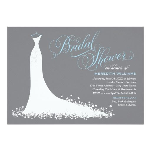 350 best bridal shower invitations images on pinterest cards how to bridal shower invitation elegant wedding gown lowest price for you in addition filmwisefo