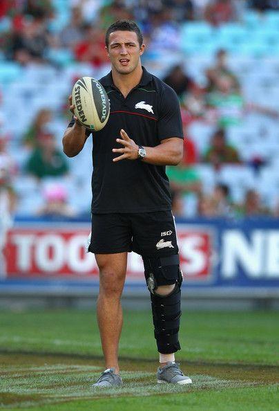 Sam Burgess from the South Sydney Rabbitohs