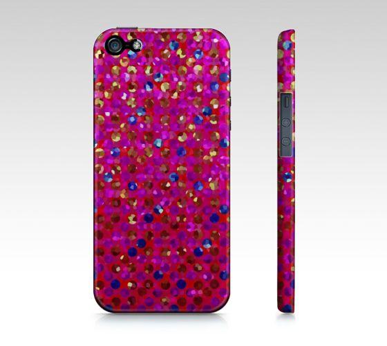 Polka Dot Sparkley Jewels 1 by Medusa81 iPhone 5 / 5S Case   #ArtofWhere #Polka #Dot #Sparkley #Jewels #iPhone #Case #Medusa81 http://artofwhere.com/shop/product/35483