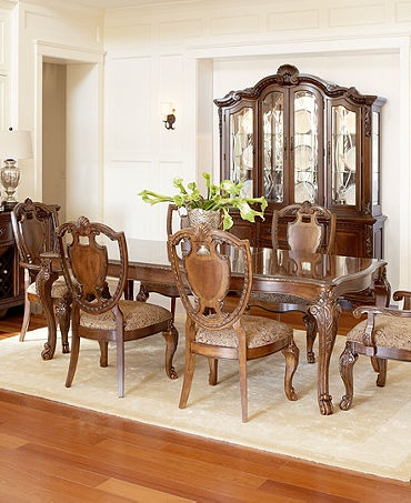 nice old world style im torn between this set and the - Bordeaux Louis Philippe Style Bedroom Furniture Collection