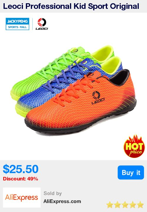 Leoci Professional Kid Sport Original Soccer Boots Men Cheap Football Trainers Soccer Cleats Football Shoes Chuteira Futebol * Pub Date: 04:55 Jul 11 2017