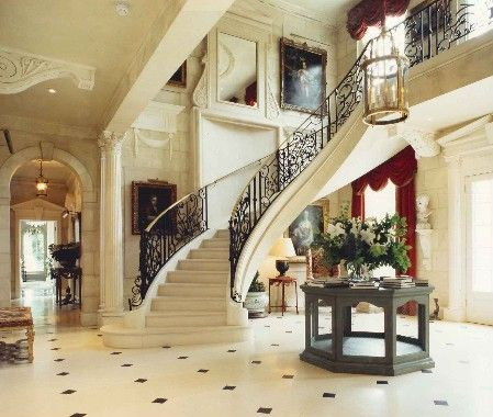 105 best Grand Entrance,Foyer & Staircase ! images on Pinterest ...