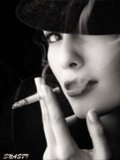 картинки красивые картинки анимационные картинки для мобильного девушка с сигаретой