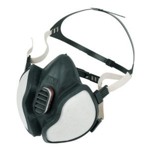 #3M Dust Mask #3M Dust Mask.This dust mask is for use when working with paints solvents resins varnishes and adhesives. Its also great for heavy-duty cleaning; covering your mouth and nose to keep you breathing dust-free air. (Barcode EAN=4046719313655)