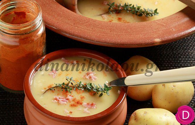 Πατατόσουπα με πάπρικα | Dina Nikolaou