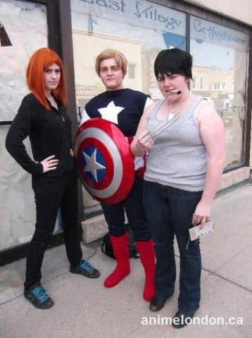 Avengers, X-Men, Black Widow, Captain America, Wolverine #FCBD2015