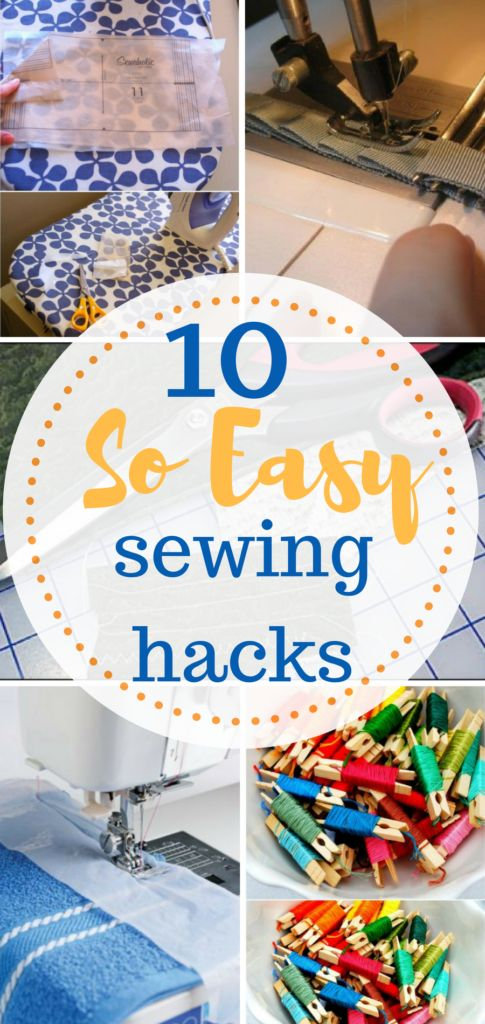 Sewing, Sewing hacks, Easy Sewing Hacks, Sewing Tips, Sewing TIps and Tricks, Sewing for beginners #Sewing #Hack #sewing #sewingprojects