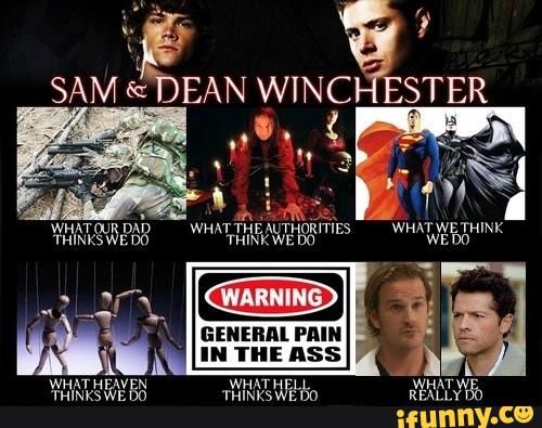 supernatural, sabriel, destiel