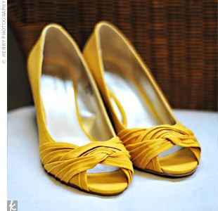 These were on a wedding site...but I love them.  And have some wickery flats like them