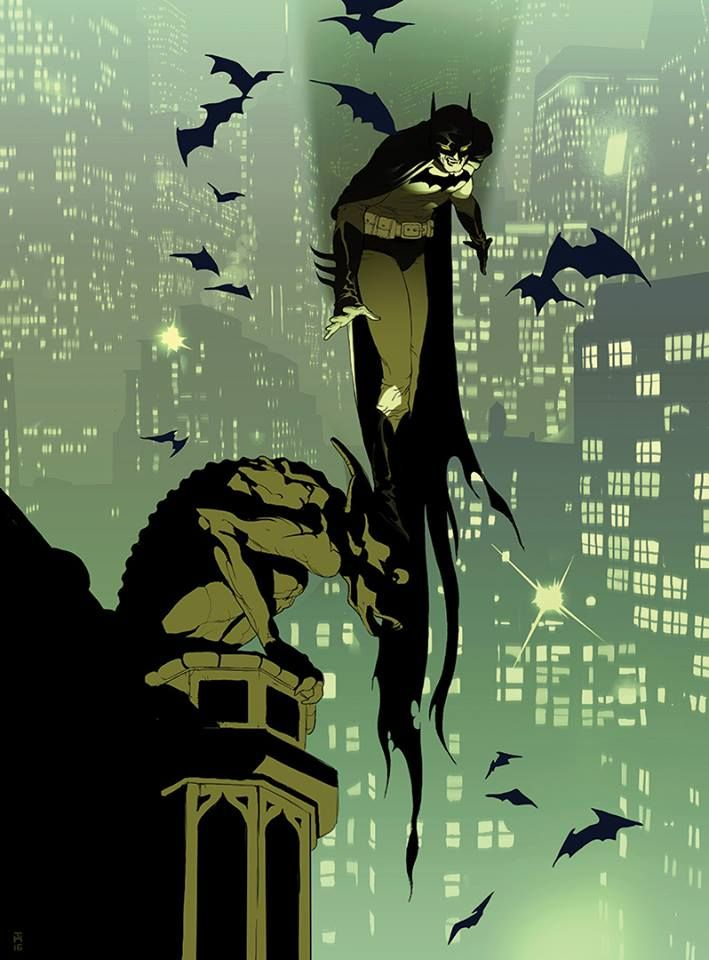 By Tomer Hanuka for Entertainment Weekly.