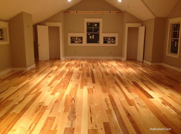 Unfinished Hickory Hardwood Flooring Gurus Floor