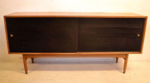 eBay watch: 1950s velvet-fronted teak sideboard