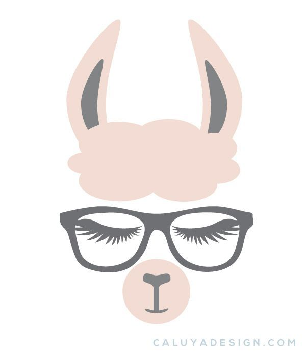 Kostenloses Llama Faces SVG, PNG, EPS & DXF