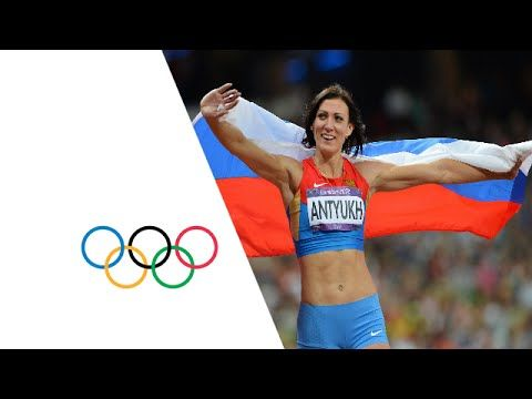 Natalya Antyukh (RUS) Wins 400m Hurdles Gold - London 2012 Olympics - YouTube