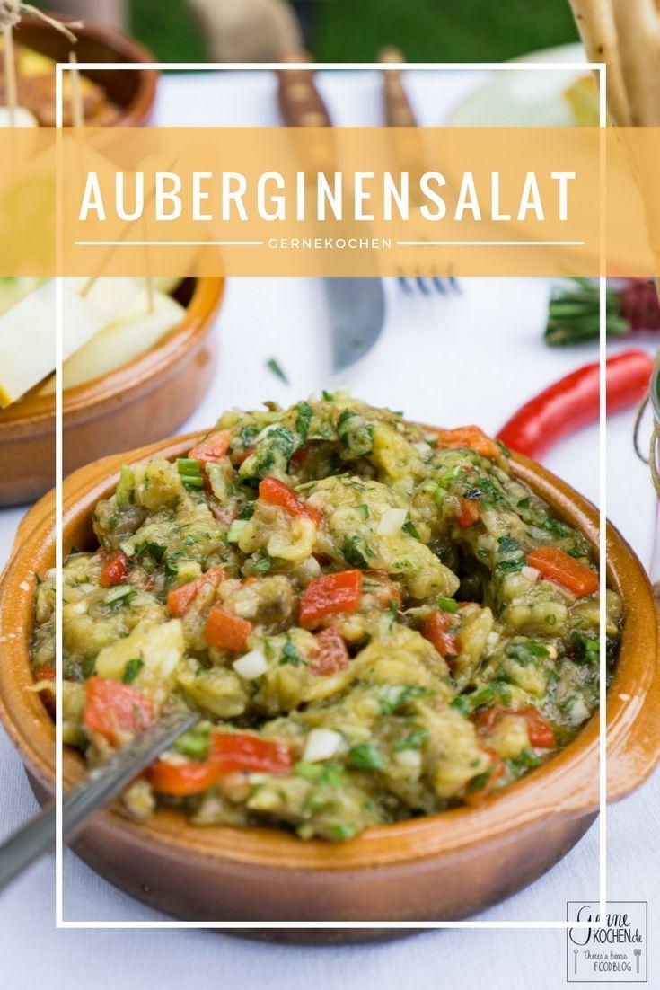 Auberginensalat nach türkischer Art - Patlican Salata