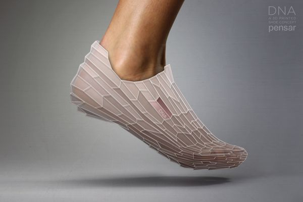 DNA 3D PRINTED SHOE on Behance