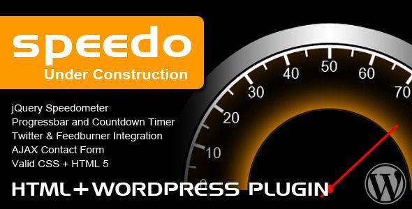 Speedo Under Construction
