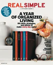 The Get It Together Plan | Real Simple - Get organized. Meal planner, to-do lists, organization tips, emergency prep lists, everyday forms (budgets, worksheets)