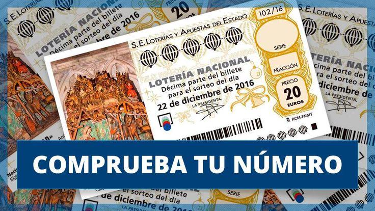 Lotería Navidad 2016: Comprueba aquí tus números
