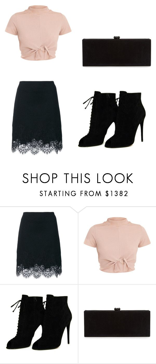 """""""Untitled #1027"""" by bellev17 ❤ liked on Polyvore featuring Ermanno Scervino, Tom Ford and Edie Parker"""